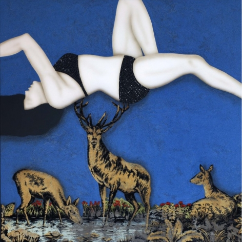 KEZBAN ARCA BATIBEKI, Night With Deer, 2011