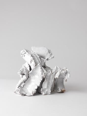 White Strokes, 2015, Ceramic