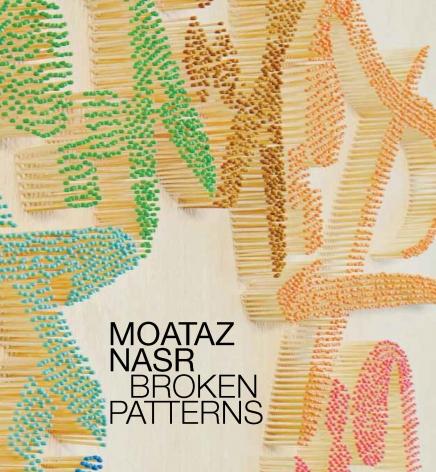 Moataz Nasr: Broken Patterns Catalogue