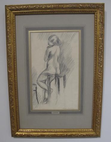 Henri Matisse, Nu Assis sur un Tabouret, 1906