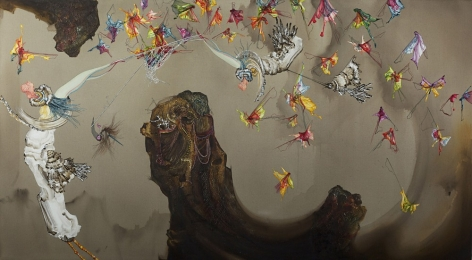 KATE ERIC , Looming the Hive, 2012