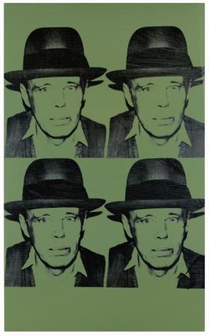 ANDY WARHOL, Portrait of Joseph Beuys, 1980