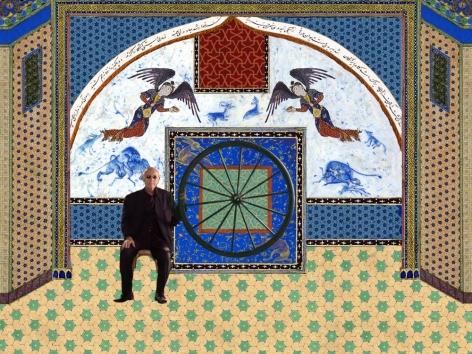SHOJA AZARI, Toil (The King of Black), 2013