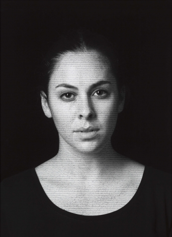 Shirin Neshat, Leah (Masses), from The Book of Kings series, 2012