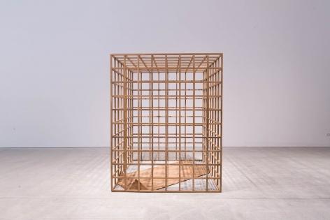 Untitled, 2017 Recycled teak wood