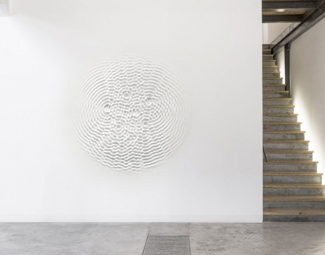 Loris Cecchini_Leila Heller Gallery