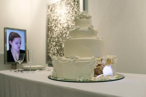 RACHEL LEE HOVNANIAN, Dinner for Two: Wedding Cake, 2013