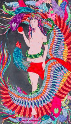 Soraya Sharghi, Beauty of ashes (Eve.4), 2019
