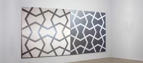 STEVEN NAIFEH, Mughal V: Silver and White, 1984