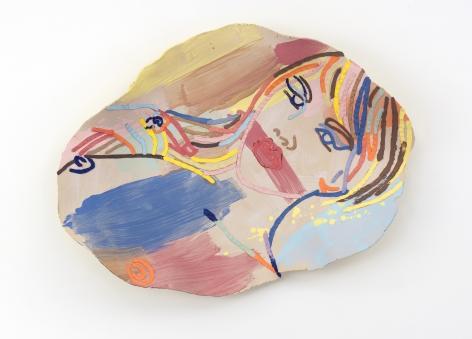 Ghada Amer, Silenced, 2015