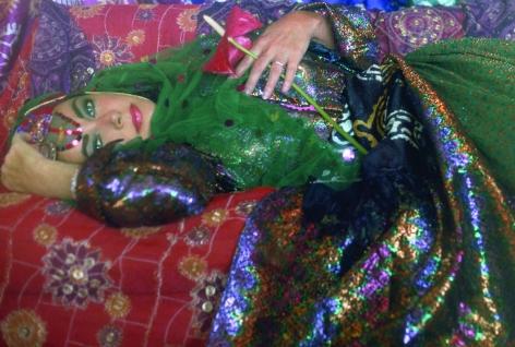 Firooz Zahedi, Elizabeth Taylor Dressed as an Odalisque I, 1976,Printed 2011