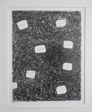Chasing Perfect I,2018, Graphite on paper, framed