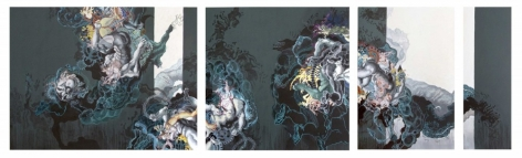 AYAD ALKADHI, Untitled (Umbilical series), 2012