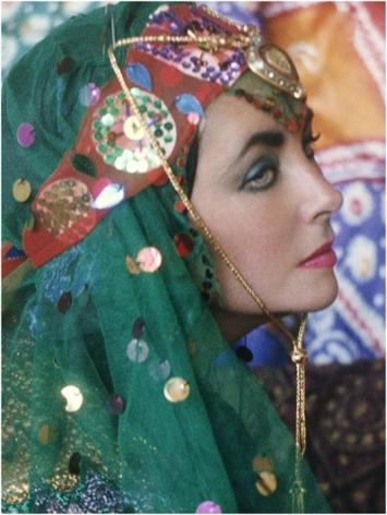 FIROOZ ZAHEDI, Elizabeth Taylor Dressed as an Odalisque II, 1976, Printed 2011