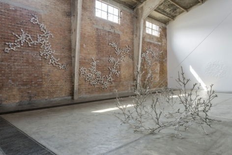 Loris Cecchini, The Ineffable gardener and inherent transience, 2013