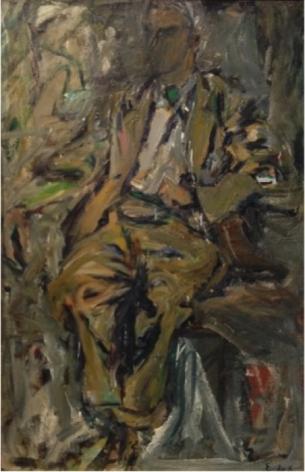 ELAINE DE KOONING, Bill, 1952