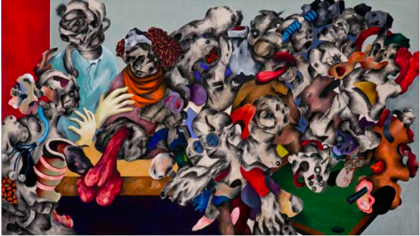 Ahmed Alsoudani Untitled, 2011