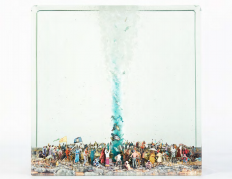 Dustin Yellin Ceremony for the Water, 2017