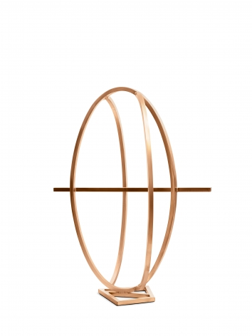 Arthur Carter, An Ellipse Intersected by Two Arcs and a Chord, 2016