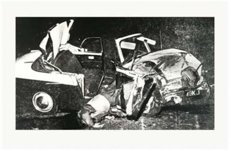Andy Warhol, Car Crash, 1978 – 1979