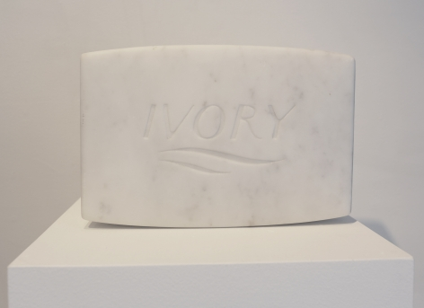 PURE Marble Medium, 2018, Carrara marble
