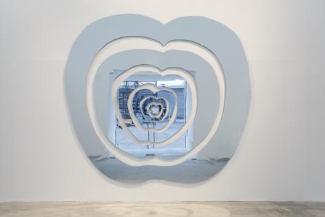 The Apple of Concord, 2007, Plexiglass