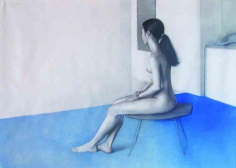 CLAUDIO BRAVO, Seated Nude, 1974