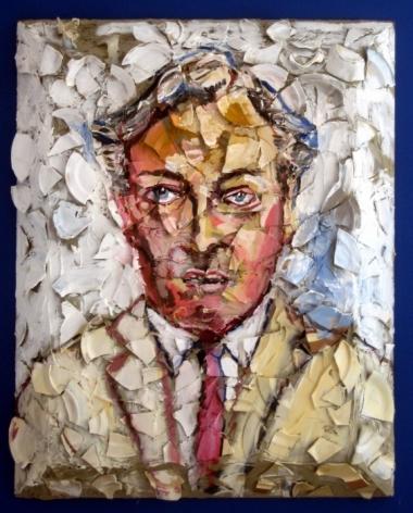 JULIAN SCHNABEL, Portrait of Geoffrey Bradfield, 2009