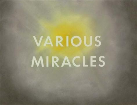 Ed Ruscha, Various Miracles, 1975