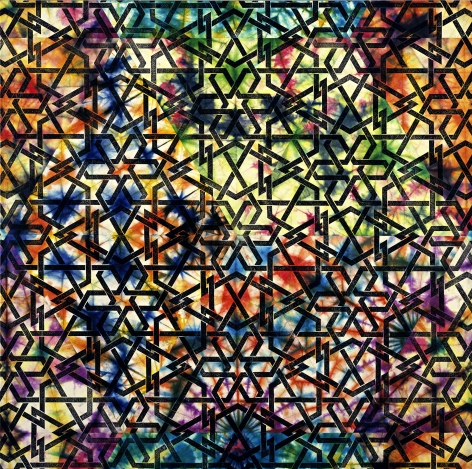 PHILIP TAAFFE , Damascene Panel, 2008