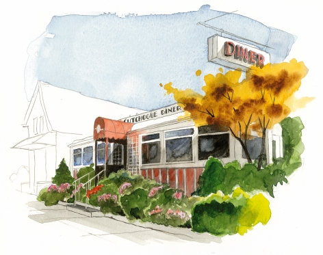 The Cutchogue Diner is a classic from the '20s, fully restored and with great meatloaf, too.