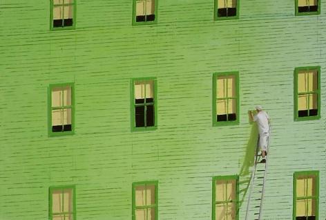 Painter 2008 oil on linen