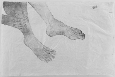 Kiki Smith Lounging Legs (4)