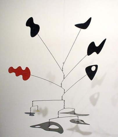Untitled 1948 sheet metal, wire and paint