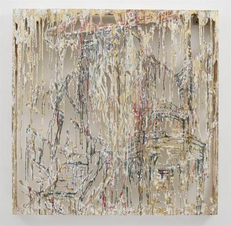Diana Al-Hadid, Theory, Beard, Practice, 2015