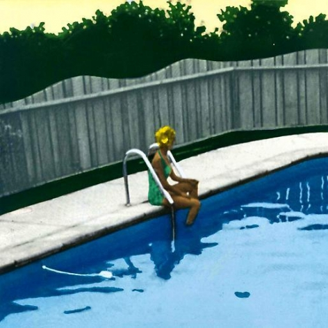Isca Greenfield-Sanders Green Suit Bather, 2006
