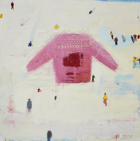 Christopher Brown Wool and Snow, 2017