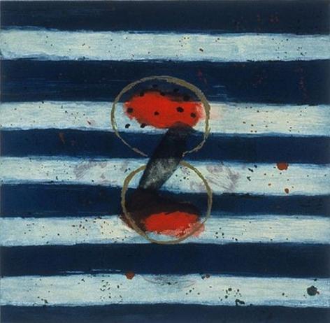 Squeak Carnwath Striped Bird, 1991