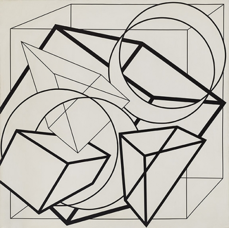 Al Held, Untitled, 1972