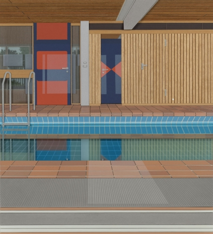 Lucy Williams, House Pool, 2017