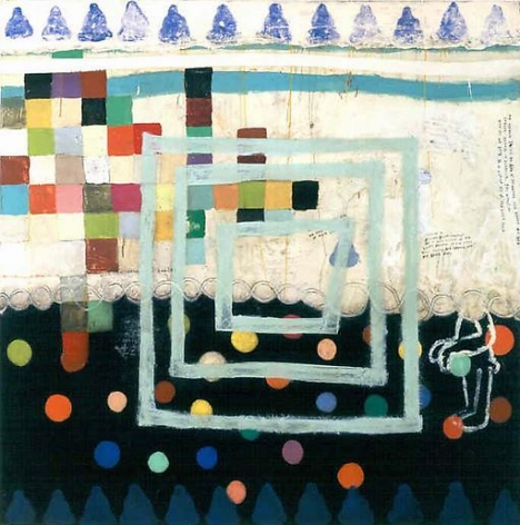 Squeak Carnwath Trying Simply to be Happy, 2000