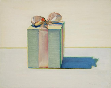 Wayne Thiebaud Gift Box, 1981