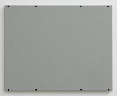 Matthew Feyld Untitled (eight black circles), 2015