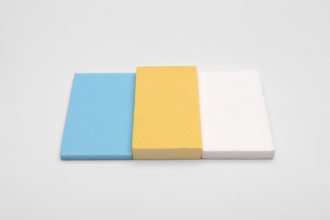 CarlAndre Who's Afraid of Blue, Yellow, and White, 2017