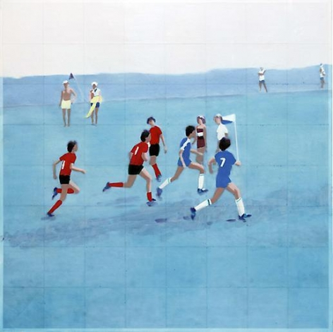 Isca Greenfield-Sanders Field and Hollow Road III, 2010