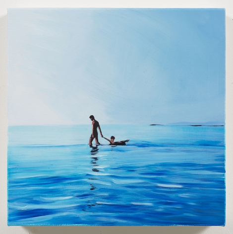 Isca Greenfield-Sanders Father and Son, 2018