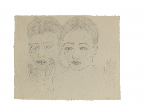 Kiki Smith Whisper Drawing #1, 2000