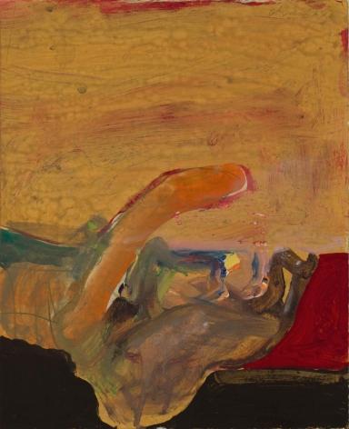 Nathan Oliveira Acrylic # 5, 1961