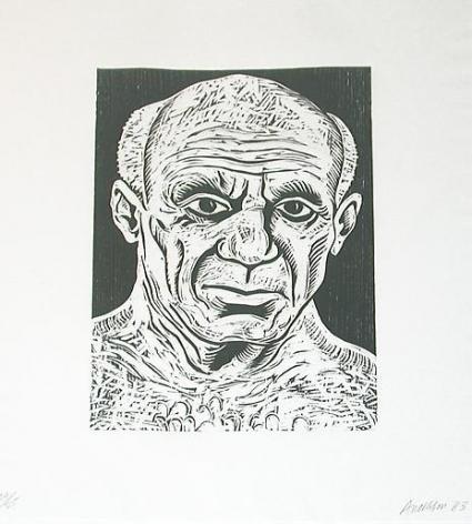 Robert Arneson 5 Guys, Picasso
