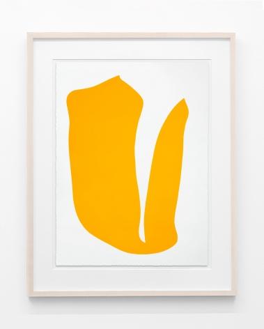 Flip (yellow paper study), 2021